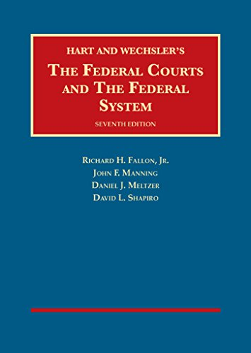 9781609304270: The Federal Courts and The Federal System (University Casebook Series)
