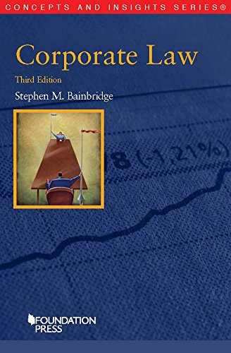 9781609304713: Corporate Law (Concepts and Insights)