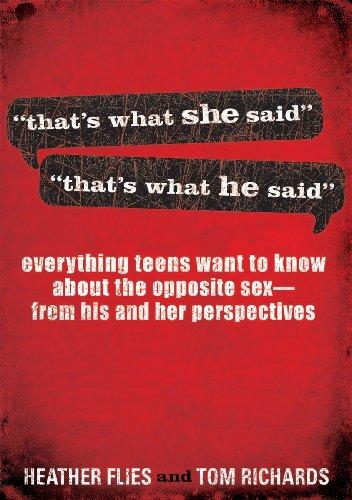 9781609362201: That's What She Said/He Said