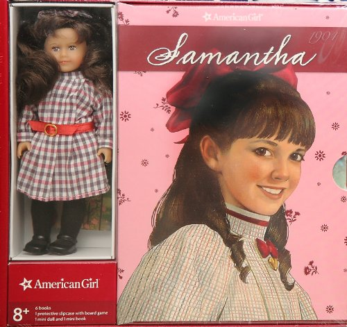 9781609581497: American Girl Mini Samantha with 6 Books and Board Game.