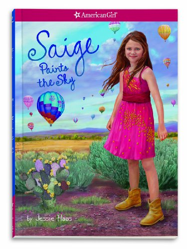 9781609581695: Saige Paints the Sky (Girl of the Year)