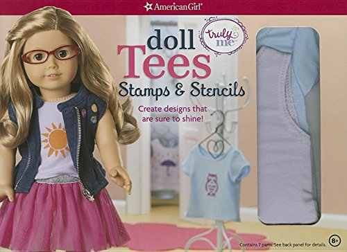 9781609587420: Doll Tees and Tanks: Stencils and Stamps: Create designs that are sure to shine! (American Girl)