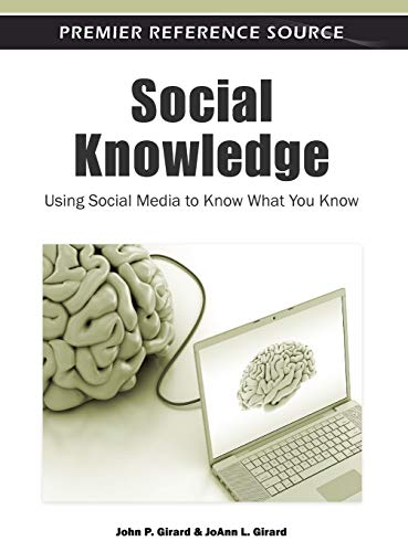 9781609602031: Social Knowledge: Using Social Media to Know What You Know