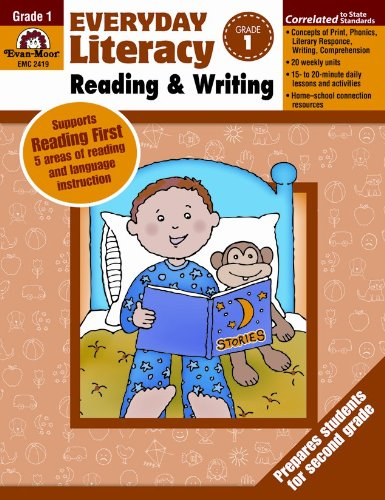 9781609631123: Everyday Literacy Reading and Writing, Grade 1