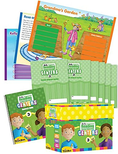 9781609631222: Daily Reading Comprehension Centers, Grade 3 Classroom Kit