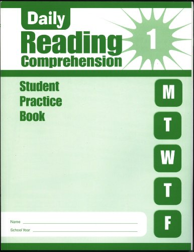 9781609632649: Daily Reading Comprehension - Grade 1 Student Practice Books (5-pack)