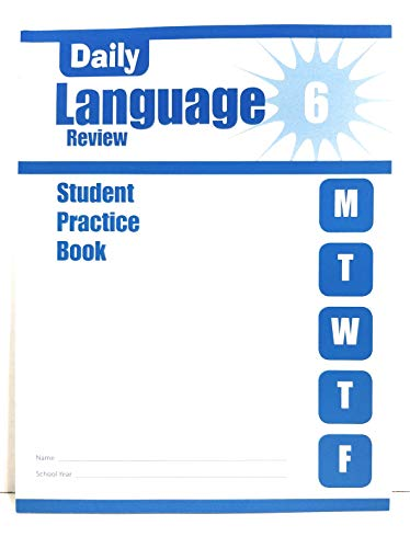 9781609633523: Daily Language Review, Grade 6 Individual Student Practice Book