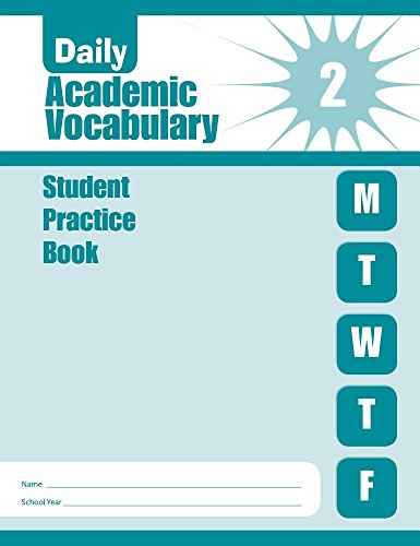 9781609633592: Daily Academic Vocabulary, Grade 2 Individual Student Practice Book