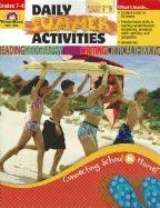 9781609634407: Evan-Moor Daily Summer Activities: Moving from 7th to 8th Grade Activity Book; Outside the Classroom Learning Resource Workbook, Fun Lessons