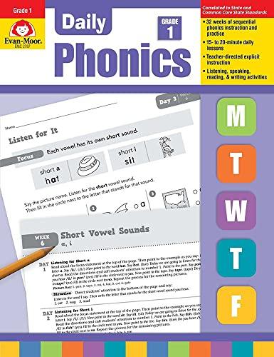9781609634414: Daily Phonics, Grade 1
