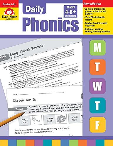Daily Phonics, Grade 4-6: Evan Moor