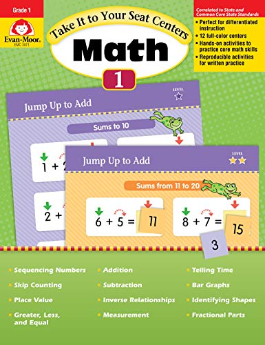 Take It to Your Seat Common Core Math Centers, Grade 1