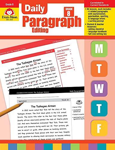 9781609638337: Daily Paragraph Editing, Grade 8