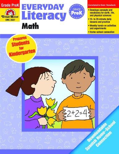 9781609638344: Everyday Literacy: Math, Grade Pre-K