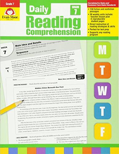 9781609638443 Daily Reading Comprenesion Grade 7 Comprehension