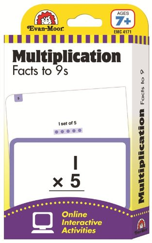 9781609639495: Flashcards: Multiplication Facts to 9s (Flashcards: Math)