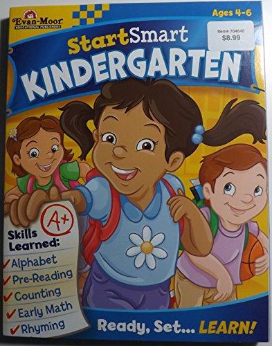 9781609639976: Start Smart Kindergarten (Alphabet, Pre-reading, Counting, Early Math, Rhyming)