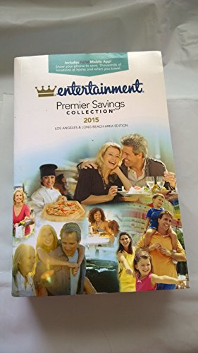 2015 Entertainment Book Coupon Savings Book Premier Savings Collection (Los Angeles & Long ...