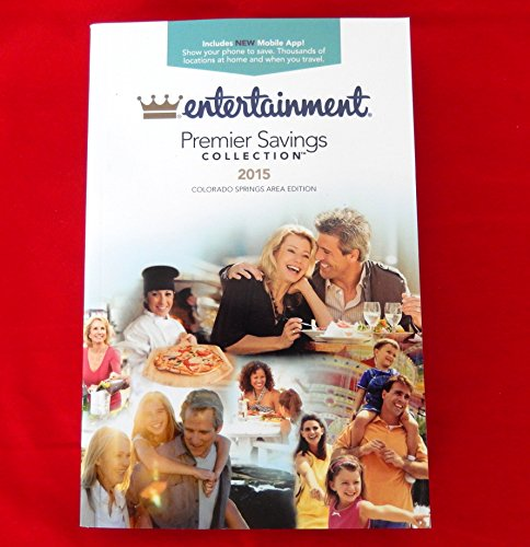 2015 Entertainment Book Colorado Springs ~ NEW ~ Priority Mail Shipping !