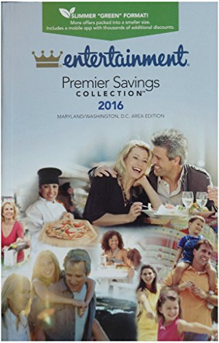 9781609676698: Entertainment Premier Saving Collection 2016, Maryland/Washington, D.C. Area Edition