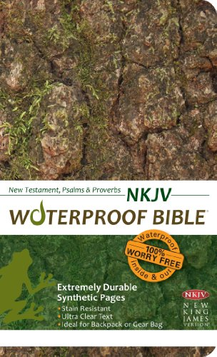 9781609690021: Waterproof Durable New Testament with Psalms and Proverbs-NKJV-Camouflage