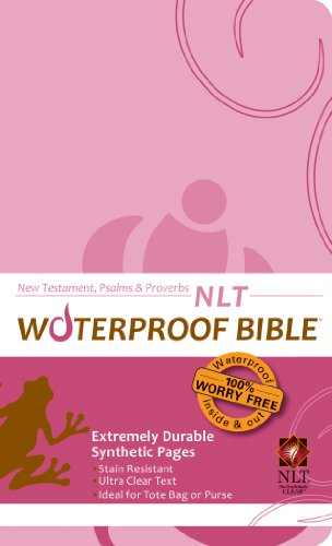 9781609690113: Waterproof New Testament with Psalms and Proverbs-NLT-Pink