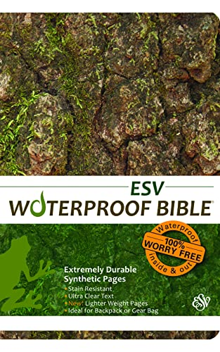 9781609690144: Waterproof Bible-ESV-Tree Bark