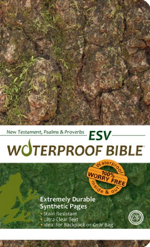 9781609690151: Waterproof Durable New Testament with Psalms and Proverbs-ESV-Camouflage