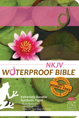 9781609690236: Waterproof Bible - NKJV - Lily Pad