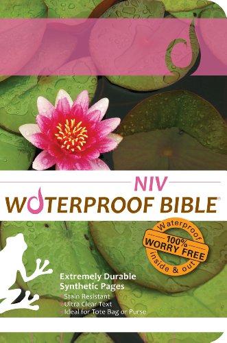 9781609690250: Waterproof Bible - NIV(2011) - Lily Pad