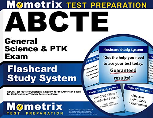 9781609710323: ABCTE General Science & PTK Exam Flashcard Study System: ABCTE Test Practice Questions & Review for the American Board for Certification of Teacher Excellence Exam (Cards)