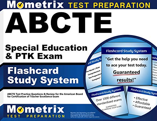 9781609710422: ABCTE Special Education & PTK Exam Flashcard Study System: ABCTE Test Practice Questions & Review for the American Board for Certification of Teacher Excellence Exam (Cards)