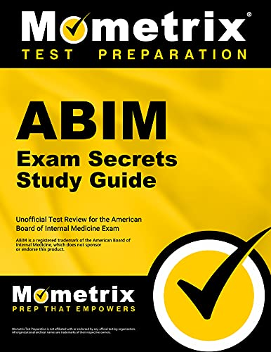 9781609710477: ABIM Exam Secrets Study Guide: ABIM Test Review for the American Board of Internal Medicine Exam