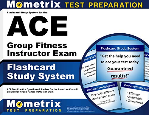 9781609710521: Flashcard Study System for the ACE Group Fitness Instructor Exam: ACE Test Practice Questions & Review for the American Council on Exercise Group Fitness Instructor Exam (Cards)