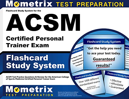 9781609710606: Flashcard Study System for the ACSM Certified Personal Trainer Exam: ACSM Test Practice Questions & Review for the American College of Sports Medicine Certified Personal Trainer Exam (Cards)