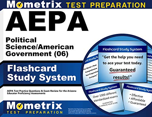 9781609711153: AEPA Political Science/American Government (06) Flashcard Study System: AEPA Test Practice Questions & Exam Review for the Arizona Educator Proficiency Assessments (Cards)