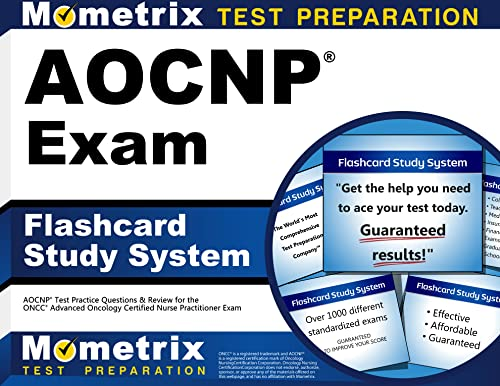 9781609711559: AOCNP Exam Flashcard Study System: AOCNP Test Practice Questions & Review for the ONCC Advanced Oncology Certified Nurse Practitioner Exam (Cards)