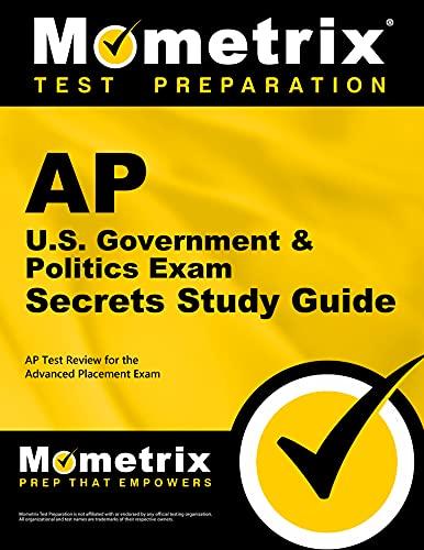 9781609711832: AP U.S. Government & Politics Exam Secrets Study Guide: AP Test Review for the Advanced Placement Exam