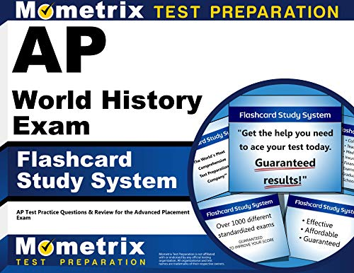 9781609711887: AP World History Exam Flashcard Study System: AP Test Practice Questions & Review for the Advanced Placement Exam (Cards)