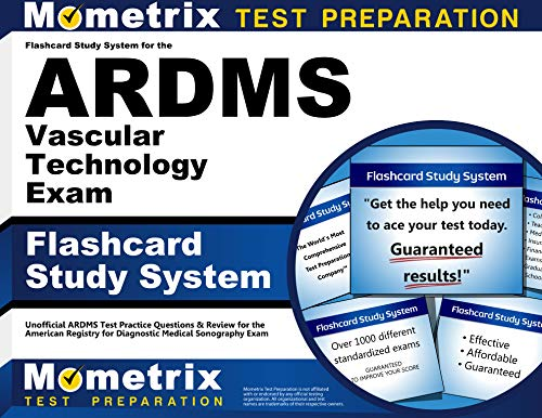 9781609712006: Flashcard Study System for the ARDMS Vascular Technology Exam: Unofficial ARDMS Test Practice Questions & Review for the American Registry for Diagnostic Medical Sonography Exam (Cards)