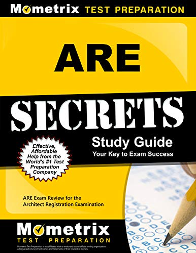 9781609712013: ARE Secrets Study Guide: ARE Exam Review for the Architect Registration Examination