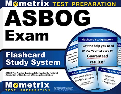 9781609712068: ASBOG Exam Flashcard Study System: ASBOG Test Practice Questions & Review for the National Association of State Boards of Geology Examination (Cards)