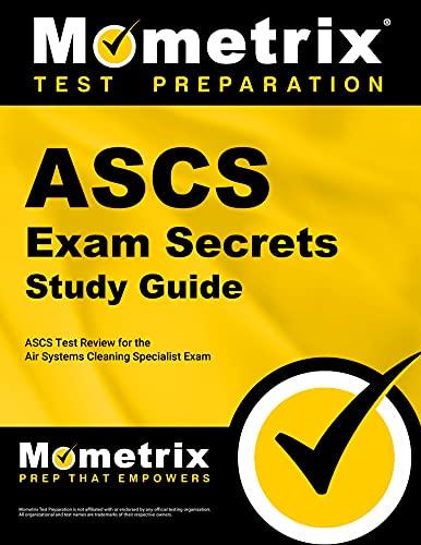 ASCS Exam Secrets Study Guide: ASCS Test: ASCS Exam Secrets