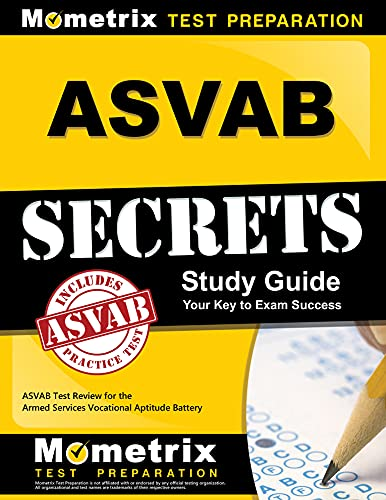 9781609712136: ASVAB Secrets Study Guide: ASVAB Test Review for the Armed Services Vocational Aptitude Battery