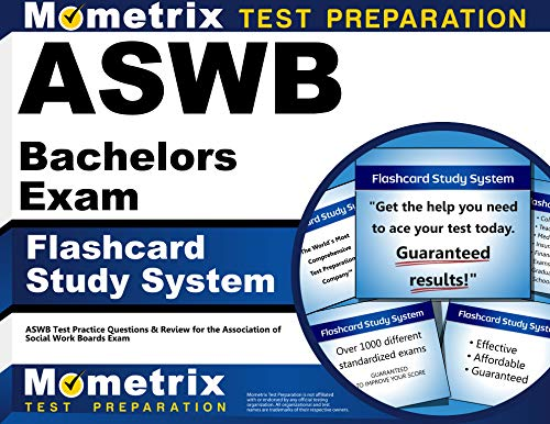 9781609712181: ASWB Bachelors Exam Flashcard Study System: ASWB Test Practice Questions & Review for the Association of Social Work Boards Exam (Cards)