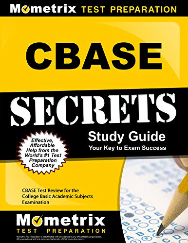 9781609712440: CBASE Secrets Study Guide: CBASE Test Review for the College Basic Academic Subjects Examination