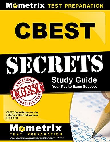 9781609712464: CBEST Secrets Study Guide: CBEST Exam Review for the California Basic Educational Skills Test