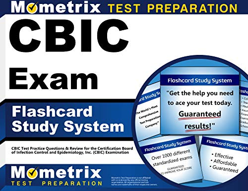 9781609712532: CBIC Exam Flashcard Study System: CBIC Test Practice Questions & Review for the Certification Board of Infection Control and Epidemiology, Inc. (CBIC) Examination (Cards)