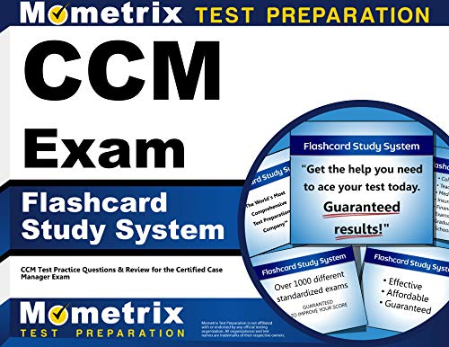 9781609712617: CCM Exam Flashcard Study System: CCM Test Practice Questions & Review for the Certified Case Manager Exam (Cards)