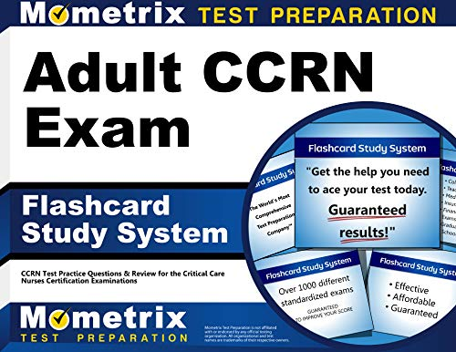 9781609712716: Adult CCRN Exam Flashcard Study System: CCRN Test Practice Questions & Review for the Critical Care Nurses Certification Examinations (Cards)